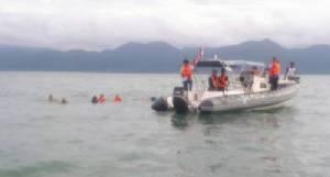เพลิงไหม้สปีดโบตรับนักท่องเที่ยวไปเกาะหมาก เด็กเรือตกทะเลสูญหาย 1 ราย