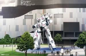 """หุ่นยักษ์ขนาดเท่าจริง """"ยูนิคอร์นกันดั้ม"""" ทำพิธีเปิด 24 ก.ย.นี้"""
