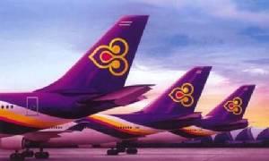 การบินไทยเลื่อนเที่ยวบินเพิร์ท-กรุงเทพฯ เหตุสะพานเทียบเครื่องบินชนฝาครอบเครื่องยนต์