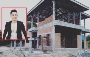 """""""เบิ้ล อาร์สยาม"""" ควักเงินล้านสร้างบ้านให้คุณพ่อ-คุณแม่ ที่บ้านเกิด จ.อำนาจเจริญ"""
