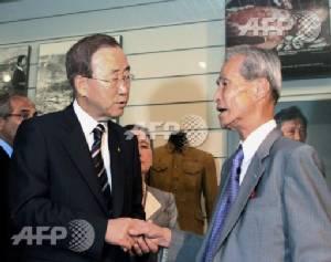 Postman who survived Nagasaki A-bomb dies at 88