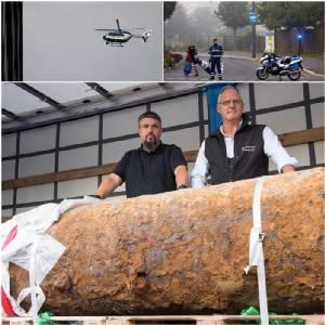 In Pics & Clip : พลเมืองเบียร์อพยพอีกครั้ง หลังพบระเบิดสมัยสงครามโลกครั้งที่ 2 กลางเมืองแฟรงก์เฟิร์ต สุดฮือฮาส่ง ฮ.ติดกล้องจับความร้อนบินสำรวจก่อนลงมือ