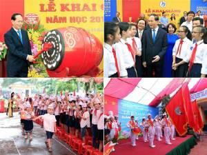 นักเรียนมัธยม-ประถม 20 ล้านคนทั่วเวียดนามเปิดปีการศึกษาใหม่วันนี้