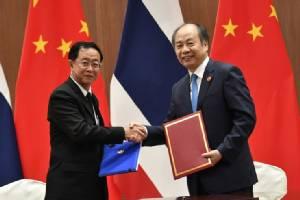 ไทยเซ็นสัญญาจ้างจีน 5.2 พันล้าน ออกแบบ-คุมงานไฮสปีดกรุงเทพฯ-โคราช