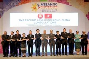 อาเซียน -ฮ่องกง เตรียมลงนามข้อตกลงการค้าเสรี ปลายปีนี้