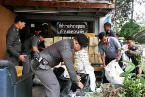 รายใหญ่! ตำรวจหาดใหญ่ทลายแหล่งค้าใบกระท่อมและยาแก้ไอ ของกลางเพียบ