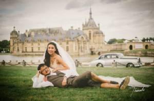 """""""ไฮโซครี พัสวีพิชญ์"""" ควงแฟนนักธุรกิจ แต่งงานสุดอบอุ่นที่ฝรั่งเศส"""