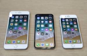 เทียบขนาด iPhone 8 Plus, iPhone X และ iPhone 8