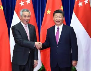 """สี จิ้นผิง แนะความไว้วางใจคือกุญแจ สิงคโปร์ย้ำยึด """"จีนเดียว""""ค้านไต้หวันแยกตัว"""