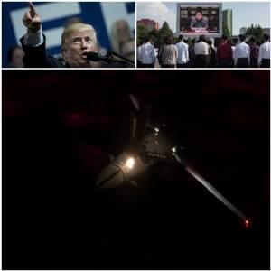 """InPics:เพนตากอนส่ง """"B-1B Lancer"""" บวก F-15 เฉียดฝั่งเกาหลีเหนือ เวลาเดียว """"ทูตเปียงยาง"""" ขึ้นขู่กลางยูเอ็น """"นุ๊กสหรัฐฯ เลี่ยงไม่ได้ – จ่อทดสอบ H-Bomb กลางแปซิฟิก"""""""