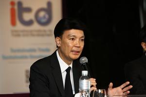 """ITD เปิดตัว """"รายงานการศึกษาวิเคราะห์แนวโน้มทิศทางการค้าเพื่อการพัฒนาที่ยั่งยืน"""" หวังช่วยขับเคลื่อนประเทศเชิงนโยบาย"""