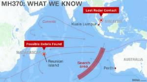 """ออสเตรเลียอ้างรู้จุดตก MH370 ชัดเจนขึ้น ยืนยัน """"รับไม่ได้"""" ที่เครื่องบินหายจะไร้ร่องรอย"""