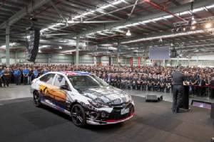 Last Australian-made Toyota rolls off production line