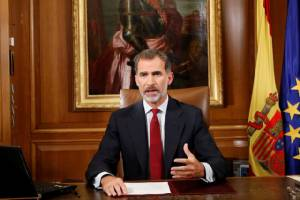 กษัตริย์สเปนตำหนิผู้นำคาตาลันก่อความแตกแยก แต่คาตาลุญญาลั่นจะประกาศเอกราชเร็ววันนี้