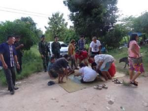 ทหารทลายบ่อนพนันเบี้ยโบกอ.นิคมคำสร้อย    ได้ผู้ต้องหา19 คนพร้อมอุปกรณ์เล่นเพียบ