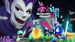 """สวมบทจอมมารใน """"No Heroes Allowed! VR"""" พร้อมจำหน่าย 14 ต.ค.นี้"""