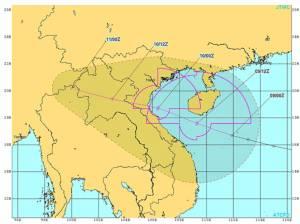 เตรียมรับดีเปรสชั่นลูกใหญ่จากทะเลจีนใต้ เหนือ-อีสานเริ่มวันนี้มีลุ้น
