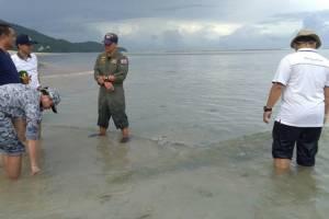ชัดแล้ว! วัตถุพบที่หาดในยาง เป็นลูกลอยกวาดทุ่นระเบิด ไม่ใช่ตอปิโด ไม่เกิดอันตราย