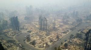 ไฟป่าแคลิฟอร์เนียตายเพิ่มเป็น 23ชีวิต ระดม จนท.ร่วมหมื่นเข้าสกัดเพลิง