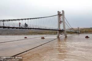 """จีนเปิดตัว """"สะพานกระจกสามมิติ"""" ข้ามแม่น้ำฮวงโห (ชมภาพ)"""