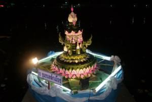 บุรีรัมย์เปิดคลองละลมโบราณ 6 ลูกให้ ปชช.-นักท่องเที่ยวลอยกระทงสืบสานประเพณีไทย