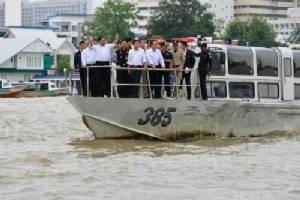 กทม.ตรวจความแข็งแรงโป๊ะและท่าเทียบเรือ คุมเข้มมาตรการความปลอดภัย รับลอยกระทง