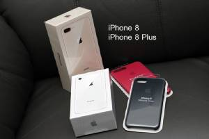 แกะกล่อง iPhone 8 และ iPhone 8 Plus ก่อนขายจริง