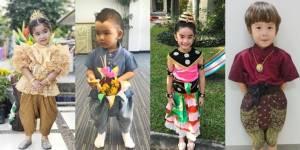 น่ารักมาก! ลูกดารา แต่งชุดไทยในวันลอยกระทง