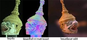 จับภาพวัตถุสามมิติที่มีความมันวาวด้วยเครื่องสแกนเนอร์จากฝีมือนักวิจัยไทย