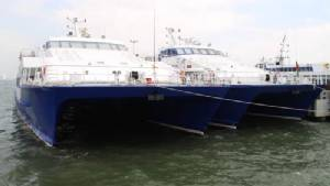 เรือเฟอร์รี่ หัวหิน-พัทยา พร้อมเปิดให้บริการพรุ่งนี้ หลังหยุดวิ่งจากเหตุคลื่นลมแรง