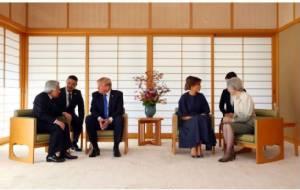 """ญี่ปุ่นเทียบมารยาท """"ทรัมป์"""" กับ """"โอบามา"""" เมื่อพบพระจักรพรรดิ"""