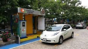 รู้ยัง! ปั๊มชาร์จรถยนต์ไฟฟ้าปี 2561จะเพิ่มเป็น 150 แห่ง
