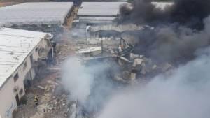 """เกิดเหตุ """"โรงงานสี"""" ระเบิดในตุรกี ดับ 5 ศพ เจ็บ 14"""