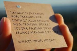 """IKIGAI ...คำถามแห่งชีวิต"""
