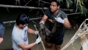 ขวัญผวาชาวบ้านลงหาปลาในคลองแต่กลับเจอโครงกระดูกมนุษย์