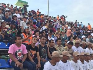 กระหึ่มท้องฟ้าภาคตะวันออก! รองนายกรัฐมนตรีเปิดงานการแข่งขันเครื่องบินสูตร 1 ชิงแชมป์โลก AIR RACE 1 World Cup Thailand 2017 PRESENTED BY CHANG(ชมคลิป)
