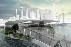 BMW ล้ำ! ออกแบบอุโมงค์จักรยานไฟฟ้าอัจฉริยะ หวังเป็นไอเดียลดปัญหาจราจรในเมืองใหญ่
