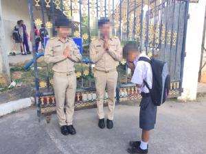 เพจข่าวคลิกเบตเสนอข่าวมั่ว อ้างครูกัดหน้าเด็กเป็นการทำโทษ ชาวเน็ตยุฟ้องดำเนินคดี