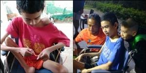 """ซาบซึ้ง! เด็กน้อยพิการทุบเงินในกระปุกร่วมบริจาค """"ก้าวคนละก้าว"""" หวังช่วยผู้ป่วยรายอื่นต่อ"""