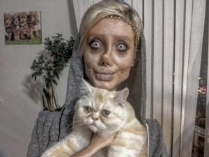 """เสียดายหน้าเดิม? ชมภาพก่อนสาวอิหร่านศัลยกรรม 50 รอบให้เหมือน """"แองเจลีนา โจลี"""""""