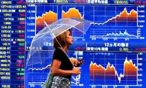 ตลาดหุ้นเอเชียปิดภาคเช้าปรับตัวลง นักลงทุนซึมซับผลการประชุม ECB