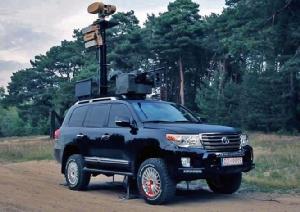 ติดปืนกลรีโมตคอนโทรล-เรดาร์ ติดจรวด Toshiba .. ไปดูโตโยต้า Land Cruiser ออกรบ