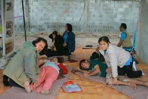 ทน.แหลมฉบัง ร่วมกับกลุ่มไทยออยล์ออกหน่วยสร้างเสริมสุขภาวะชุมชน รับเทศกาลปีใหม่