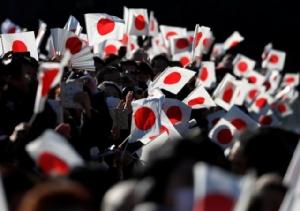 """ชาวญี่ปุ่นร่วมวันเฉลิมพระชนม์พรรษา """"พระจักรพรรดิ"""" มากเป็นประวัติการณ์ หลังข่าวสละราชบัลลังก์"""