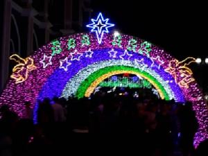 แห่เที่ยวงาน มหัศจรรย์คริสต์มาสจันทบุรี คึกคัก