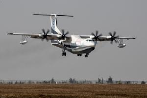 'จีน'ส่งเครื่องบินสะเทินน้ำสะเทินบกลำใหญ่ที่สุดในโลก ทะยานขึ้นฟ้าเที่ยวแรก