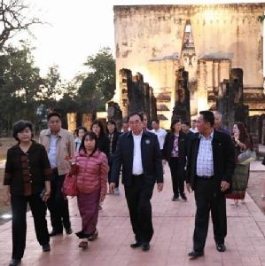 วธ.ชง 4 โครงการพัฒนาเมืองสุโขทัย ชูนักท่องเที่ยวซึมซับวัฒนธรรม