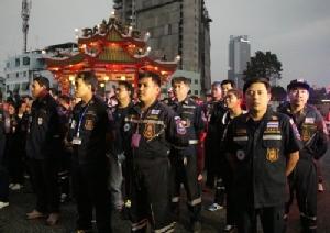 กู้ภัยสว่างประทีปฯ ปล่อยแถวเฝ้าระวังอุบัติเหตุ อุบัติภัยช่วงเทศกาลปีใหม่