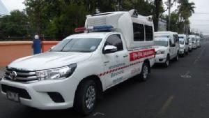 โรงพยาบาล-รพ.สต.กว่า 260 แห่งบุรีรัมย์เตรียมพร้อมรับมืออุบัติเหตุปีใหม่