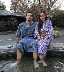 """เติมหวาน """"ธามไท-โฟร์"""" ควงกันเที่ยวญี่ปุ่น"""